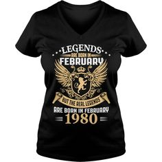 Legends Are Born In February 1980 T-Shirt_1 #gift #ideas #Popular #Everything #Videos #Shop #Animals #pets #Architecture #Art #Cars #motorcycles #Celebrities #DIY #crafts #Design #Education #Entertainment #Food #drink #Gardening #Geek #Hair #beauty #Health #fitness #History #Holidays #events #Home decor #Humor #Illustrations #posters #Kids #parenting #Men #Outdoors #Photography #Products #Quotes #Science #nature #Sports #Tattoos #Technology #Travel #Weddings #Women