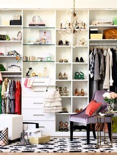 Use Billy bookcases from Ikea for 'custom' closets