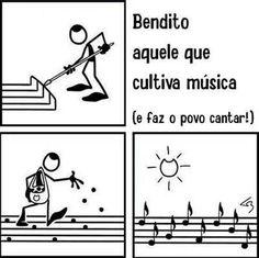 Porque cantar é ótimo!!