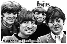Beatles by misterponce