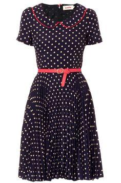 Louche Leanna spot collar dress £59