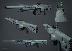 ArtStation - Weapons, Krzysztof Luzny