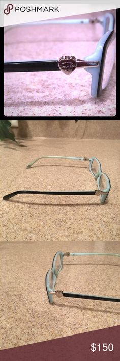 Eyeglasses Frames Small, square shape, two-toned designer eyeglasses frames Tiffany & Co. Accessories Glasses