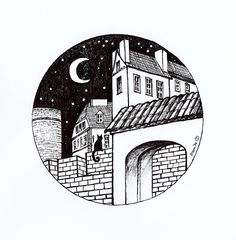 Old Town in Warsaw by Kamila Guzal-Pośrednik