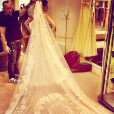 Mantilha noiva  Assessoria www.joieeventos.com.br contato@joieeventos.com.br + 55 11 3042 3989