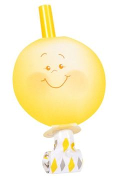 Little Sunshine Party Blowouts (8) - List price: $4.00 Price: $3.40 Saving: $0.60 (15%)