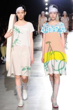 強く楽しいオールスターの輝きに満ちた - mintdesigns(ミントデザインズ) 2012年春夏コレクションの写真3