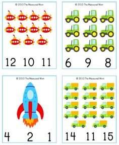 Transportation Printable: Transportation Count & Clip Cards transportation cards snip Free Transportation Printable: Transportation Count & Clip Cards Clip-on may refer to: Numbers Preschool, Learning Numbers, Preschool Printables, Preschool Worksheets, Preschool Activities, Math Numbers, Free Printables, Transportation Theme Preschool, Transportation Worksheet