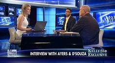 Dinesh D'Souza and Bill Ayers Battle During Contentious 'Kelly File' Debate: 'I'm Not Proud to Be an American'