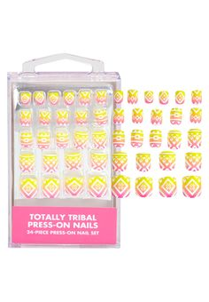 Totally Tribal Press On Nails