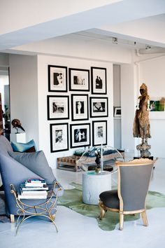 Vicente Wolf's Manhattan Living Room | Rue