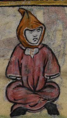 Detail from medieval manuscript, British Library Stowe MS 17 'The Maastricht Hours', f98v