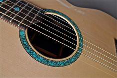 2007 McCollum SJ -  Acoustic Guitar - Custom Turquoise and Abalone Rosette