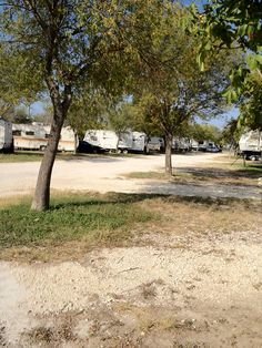 Buzzard Roost RV Campground At Del Rio Texas United States