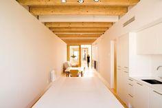 Casa entre medianeras. dataAE|Espacios en madera