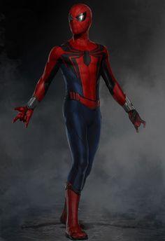 Spider-Man: Homecoming 2017 Concept Art by Ryan Meinerding