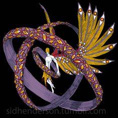 The Fallen by John-Stone-Art on DeviantArt Character Concept, Character Art, Concept Art, Character Design, Fantasy Creatures, Mythical Creatures, Fantasy Kunst, Fantasy Art, Monster Design