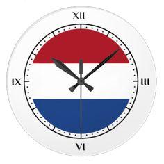Dutch flag clocks