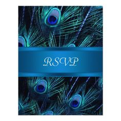 ShoppingRoyal Blue Purple Peacock Feathers Wedding Custom AnnouncementWe have the best promotion for you and if you are interested in the related item or need more information reviews from the x customer who are own of them before please follow the link to see fully reviews
