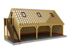 Special offers on oak framed buildings such as extensions, garages, car ports and other oak framed buildings plus prices for extras such as assembly. Carport Garage, Barn Garage, Garage Plans, Garage With Loft, Carport Designs, Garage Design, Garages, Timber Frame Garage, Garage Atelier
