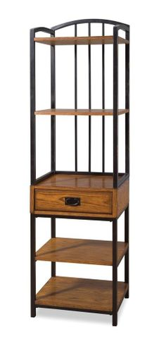 Storage Rack Shelves Livingroom Dining Media Nic Nacs Wood Decor Tower New