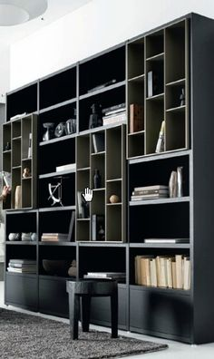 18 Seriously Cool Bookshelves U0026 Bookcases   Neatorama | Neat Design And  Fashion | Pinterest | Unique Bookshelves, Industrial And Interiors Design