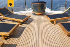 The most customized Amels Limited Editions to date, ENGELBERG has been designed to perfectly meet her Owner's needs. Advanced personal communications systems, a unique aft deck layout, and a charcoal grey hull with a hint of orange make this yacht a true original. She features a stunning interior design by Enzo Enea, who blended the Mediterranean environment into the yacht's interior décor. Engelberg, Deck Stairs, Communication System, Interior Decorating, Interior Design, Charcoal, Environment, Layout, Meet