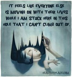 Quotes on mental health, quotes on mental illness that are insightful and inspirational. Plus these mental health quotes are set on shareable images. Mental Illness Quotes, Just Keep Walking, Depression Quotes, Depression Bipolar, Depression Recovery, My Demons, Inner Demons, Invisible Illness, Mental Health Awareness