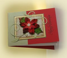 Poinsettia_With_Flourish by swldebbie - Cards and Paper Crafts at Splitcoaststampers