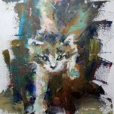 """""""Tiger-r-r-r"""" – Valerie Lazareva Abstract Art, Abstract Paintings, Buy Paintings, Cat Design, Impressionist, Art For Sale, Original Art, Art Gallery, Fine Art"""