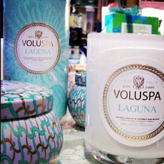 Laguna is a lovely fresh fragrance Voluspa Candles, Newtown Square, Fragrance, Relax, Place Card Holders, My Love, Lust, How To Make, Fresh