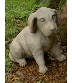 Willie Dog,    Now wouldn't this pup look adorable in the garden or at the front door. The Brookfield Company collection of Garden Accessories provides a beautiful focal point in the garden.  Visit us at www.aquariusfountainsnmore.com
