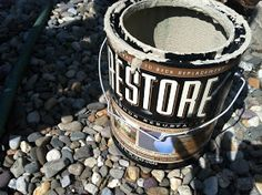 Resurfacing Concrete: Porch Makeover