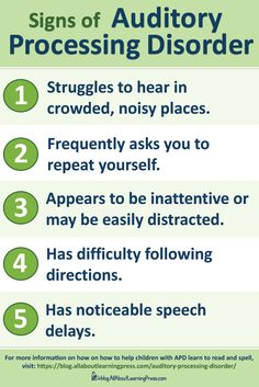 Does your child exhibit signs of an auditory processing disorder? Find out why APD causes struggles in reading and spelling, and what you can do to help.