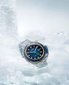 エドックス、-30℃・30mの北極ダイブを支えたダイビングウオッチ限定モデル | マイナビニュース