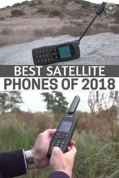 Best Satellite Phones of 2018 Camping Survival, Emergency Preparedness, Survival Tips, Survival Skills, Survival Food, Survival Stuff, Survival Shelter, Homestead Survival, Assassin