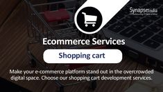 SynapseIndia is a leading shopping cart development company in India provides custom shopping cart solutions and web eCommerce services for your new or existing website. Work In Usa, Website Maintenance, Ecommerce Solutions, Peace Of Mind, Cart, Track, Mindfulness, Watch, Digital