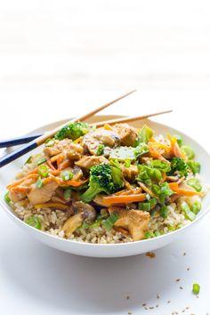 Healthy Chicken Stir Fry - Wholefully