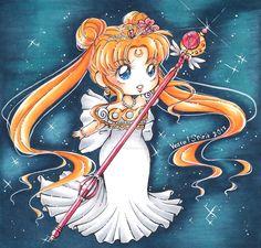 Sailor Moon: chibi Serenity by Vestal-Spirit.deviantart.com on @DeviantArt