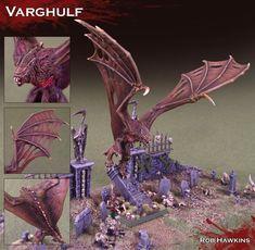 Vampire Counts Varghulf.