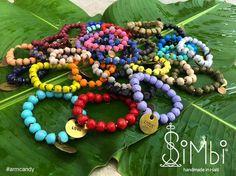 Boho Armcandy bracelets. Handmade