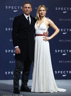 Cine Series: Daniel Craig y Lea Seydoux asisten al estreno en Beijing de la película 'Spectre'