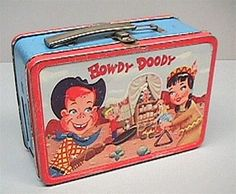 metal lunch box - 1954
