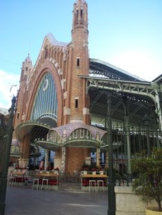 We love Mercado Colon, one of the best architectural designs in Valencia.