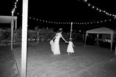 DIY dance floor / i love farm weddings