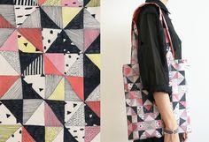Blanket Tote Bag from BONJOUR SUPERMARKET