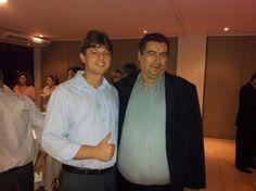 Carlos Eugenio Torres e Francisco Cavalcante no Lançamento da Rede Social Politicabook