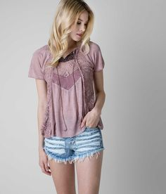 Gimmicks by BKE Pieced Top - Women's Shirts/Tops   Buckle