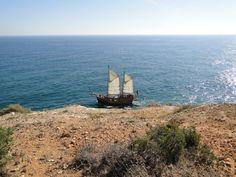 Vista casa miramar Algarve, Sailing Ships, Portugal, Boat, The Beach, Dinghy, Boats, Sailboat, Tall Ships