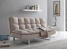Mason Oatmeal Sofa Bed Our Mason sofa bed has a generous contemporary pillow top with contrast piping detail for an elegant finish. Small Double Sofa Bed, Small Sofa, Oak Bed Frame, Sofa Frame, Chesterfield Sofa Bed, Sofa Chair, Sofa Beds, Pull Out Sofa Bed, Contemporary Pillows